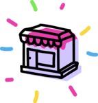 800+ Multi Style Icons Bundle - Free shop icon 4