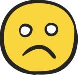 800+ Multi Style Icons Bundle - Free sad face icon 5