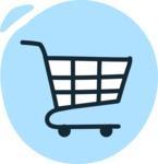 800+ Multi Style Icons Bundle - Free shopping cart icon 3