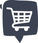 800+ Multi Style Icons Bundle - Free shopping cart icon 6
