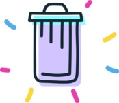 800+ Multi Style Icons Bundle - Free recycle bin icon 4