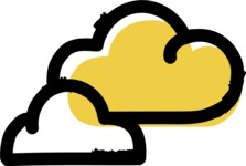 800+ Multi Style Icons Bundle - Free clouds weather icon 2
