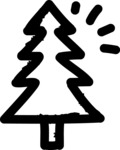 800+ Multi Style Icons Bundle - Free tree icon 1