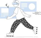 Modern Flat People Illustrations Bundle - free-people-illustration-24