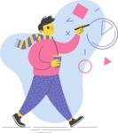 Modern Flat People Illustrations Bundle - free-people-illustration-49