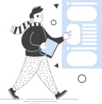Modern Flat People Illustrations Bundle - free-people-illustration-52
