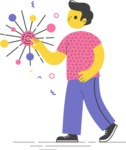 Modern Flat People Illustrations Bundle - free-people-illustration-57