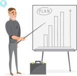 Businessman Presenting Plan