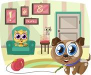 Pets Inside the House