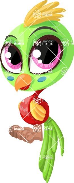 Pet Vectors - Mega Bundle - Cute Parrot