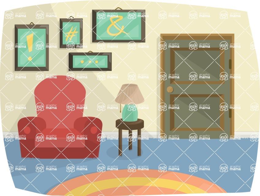 Pet Vectors - Mega Bundle - House Interior