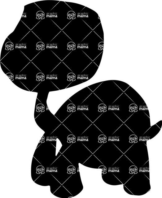 Pet Vectors - Mega Bundle - Turtle Silhouette 1