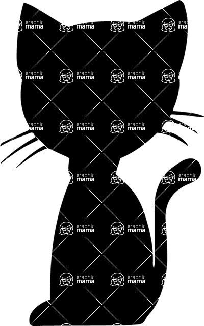 Pet Vectors - Mega Bundle - Kitten with a Collar