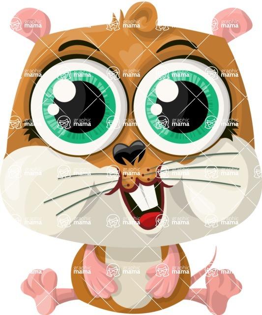 Pet Vectors - Mega Bundle - Cute Hamster
