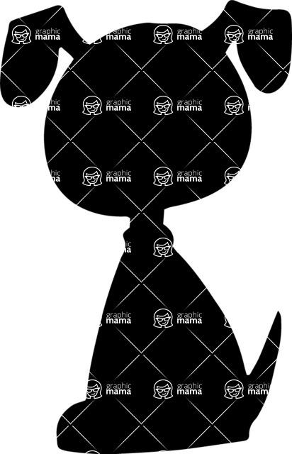 Pet Vectors - Mega Bundle - Doggy Silhouette