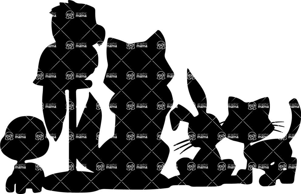 Pet Vectors - Mega Bundle - Various Pet Silhouettes