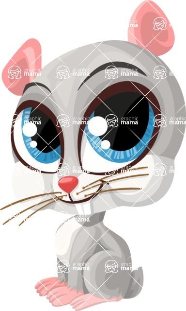 Pet Vectors - Mega Bundle - Cute Chinchilla Pet