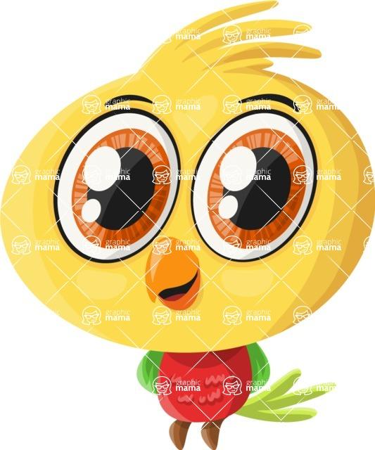 Pet Vectors - Mega Bundle - Baby Parrot