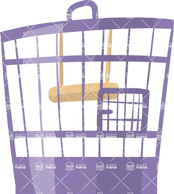 Pet Vectors - Mega Bundle - Bird Cage 1