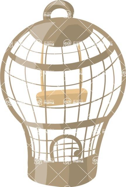 Pet Vectors - Mega Bundle - Bird Cage 4