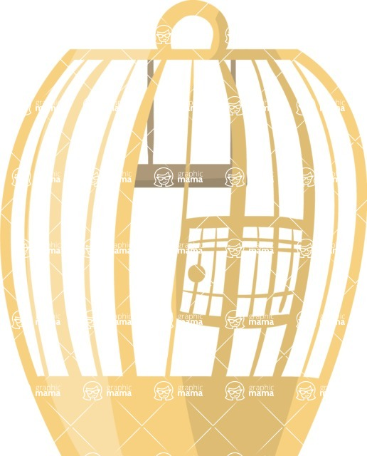 Pet Vectors - Mega Bundle - Bird Cage 5