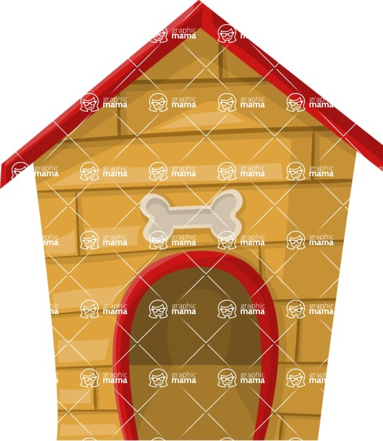 Pet Vectors - Mega Bundle - Dog House 2