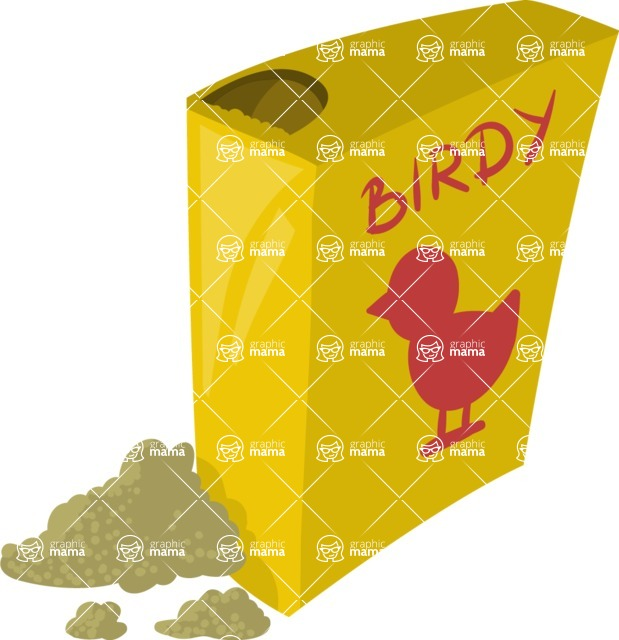 Pet Vectors - Mega Bundle - Bird Food Package