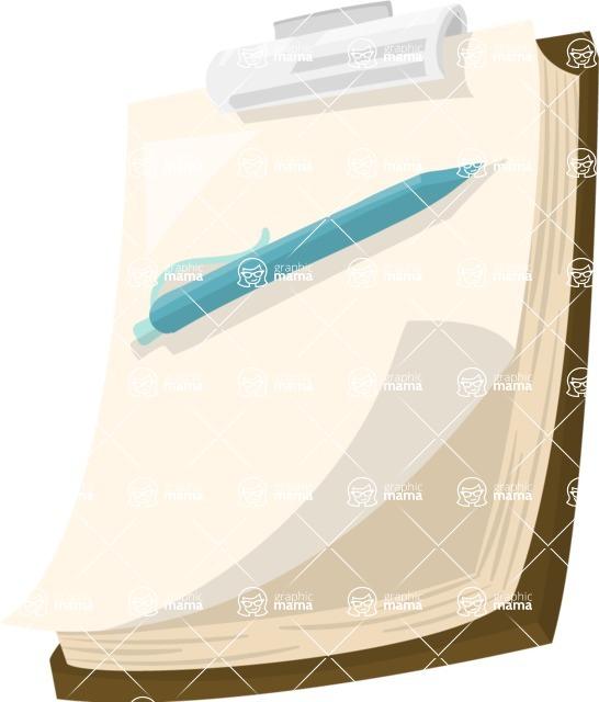 Pet Vectors - Mega Bundle - Clipboard with Paper