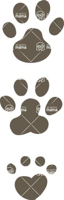 Pet Vectors - Mega Bundle - Paw Prints