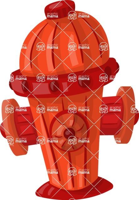 Pet Vectors - Mega Bundle - Fire Hydrant