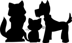 Pet Vectors - Mega Bundle - Dogs and a Kitten