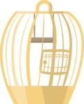 Pet Vectors - Mega Bundle - Bird Cage 5