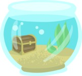 Pet Vectors - Mega Bundle - Aquarium Bowl