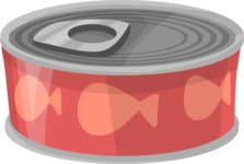 Pet Vectors - Mega Bundle - Canned Food