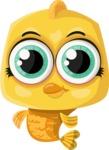Pet Vectors - Mega Bundle - Cute Golden Fish