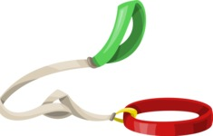 Pet Vectors - Mega Bundle - Dog Leash 2