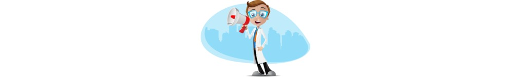 Mad Scientist Guy Cartoon Vector Character AKA Doctor Dorkster - Shape3