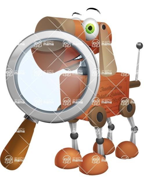 Old School Robot Dog Cartoon Vector Character AKA Robo Doug - Search