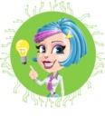 Urania the Energetic Future Girl - Shape 1