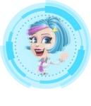 Urania the Energetic Future Girl - Shape 3