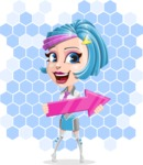 Urania the Energetic Future Girl - Shape 7