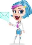 Urania the Energetic Future Girl - Mail
