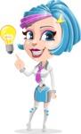 Urania the Energetic Future Girl - Idea