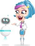 Urania the Energetic Future Girl - Robo Assistant