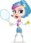 Urania the Energetic Future Girl - Sport