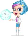 Urania the Energetic Future Girl - Time