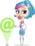 Urania the Energetic Future Girl - Web