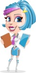 Urania the Energetic Future Girl - Book or Tablet