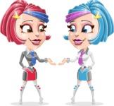 Urania the Energetic Future Girl - Cloning