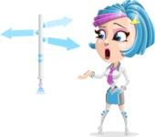 Urania the Energetic Future Girl - Crossroad